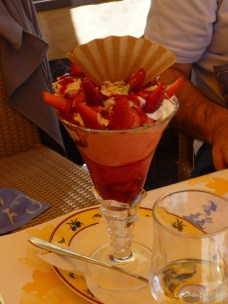Gelati desserts Le Chic En Rose's selection