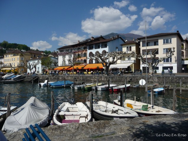 At the far end of the promenade away from the cafes nestles a little harbour