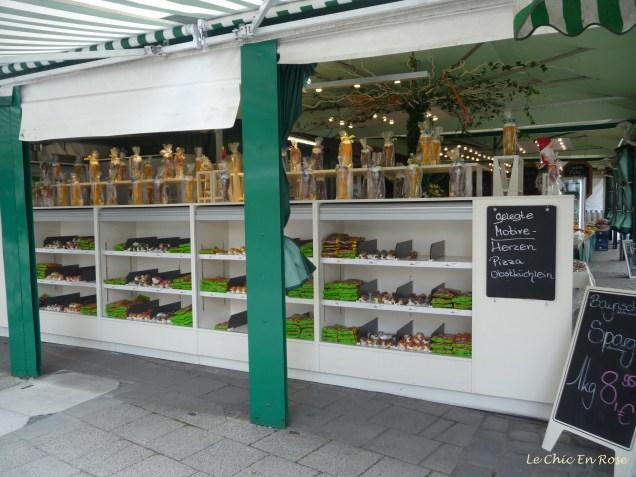 Sweet shop Viktualienmarkt Munich