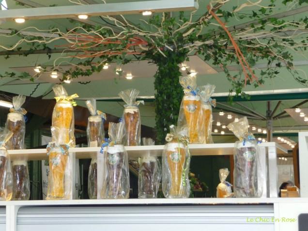Beer glass filled sweet treats at the Viktualienmarkt!