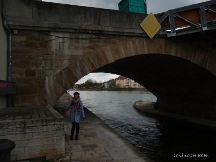 Under the Old Stone Bridge Regensburg