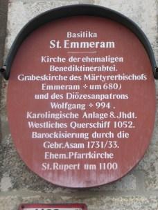 History of the ancient Benedictine Monastery of St Emmeram