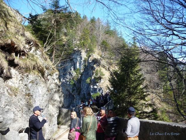 Marienbruecke over the Pollat Gorge