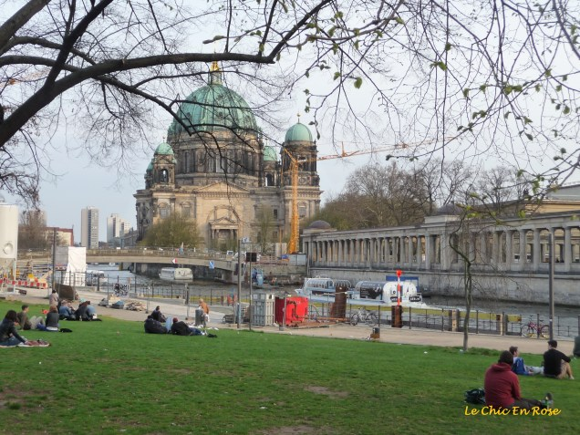 Down by the River Spree - the Dom is on the opposite bank