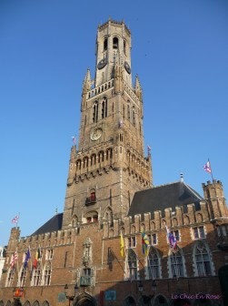 Bruges - square and church