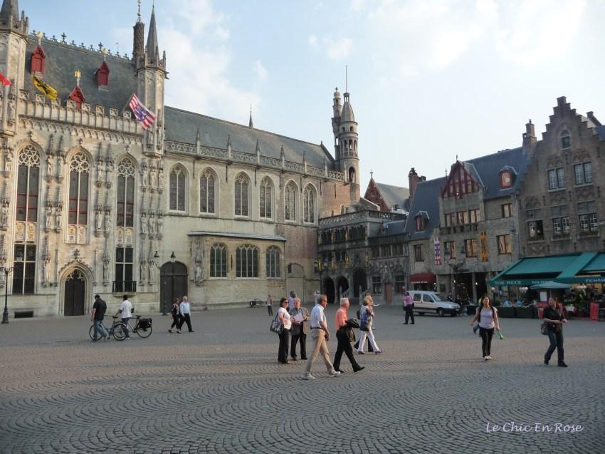 Wandering round Bruges