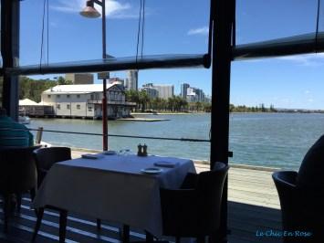 View from the restaurant veranda - Halo Restaurant Perth