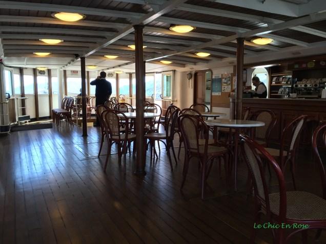 Old Wooden Floors Inside The Bar/Restaurant