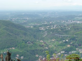 View From Brunate Funicular