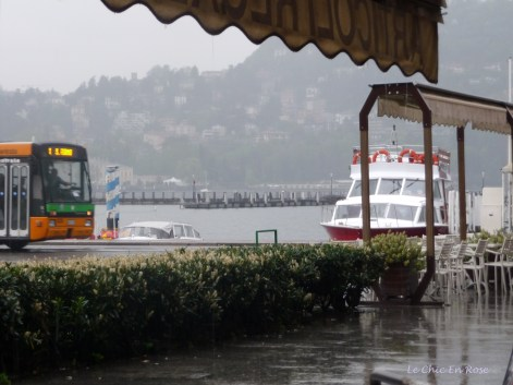 Downpour By Lake Como