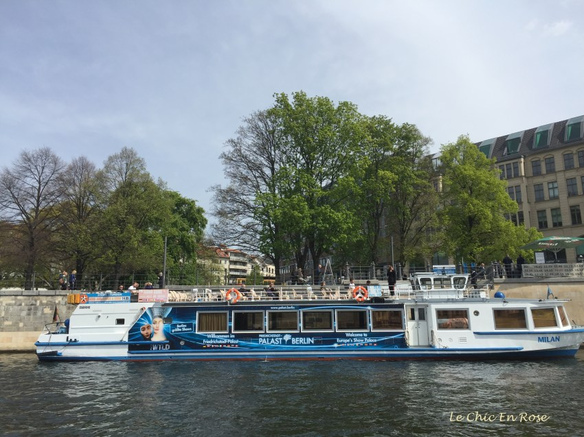 Pleasure Boat On The River Spree Berlin