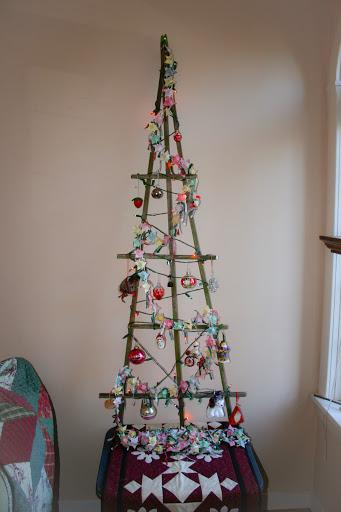 My Trellis Christmas Tree Rosemarys Blog
