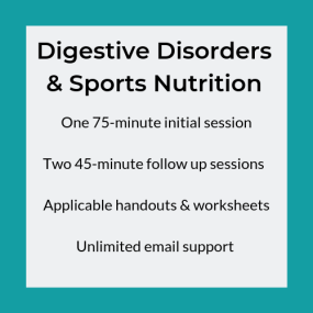 Digestive Disorders & Sports Nutrition Package (1)