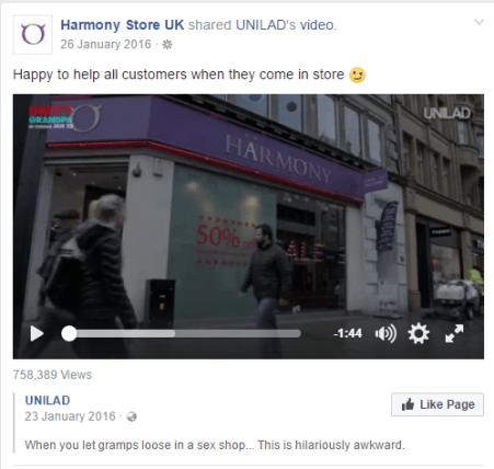 Harmony-FB-Unilad coverage