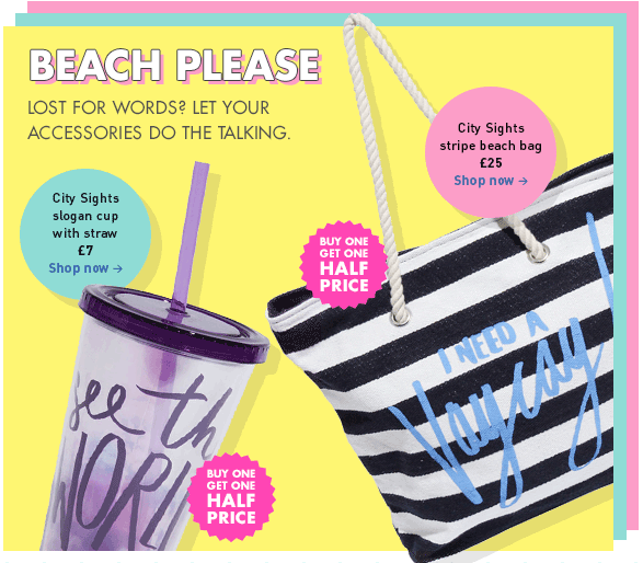 Paperchase Beach Please