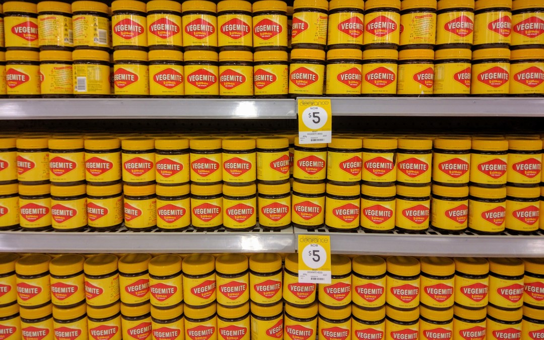What do you reckon to the Vegemite 'Tastes Like Australia' ads?