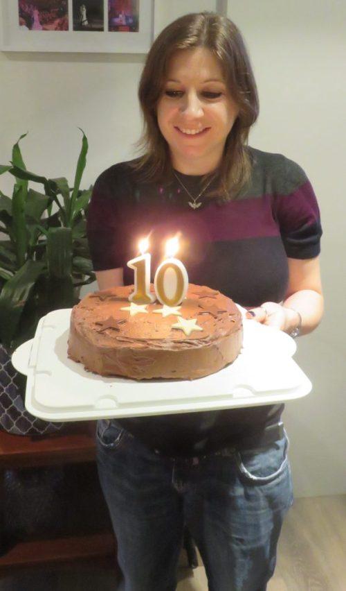 Rose Crompton 10 year mini celebration