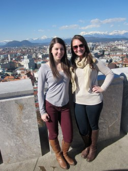 Top of the Ljubljana Castle