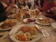 Traditional Slovenian dinner