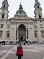 In front of St. Stephen's Basilica