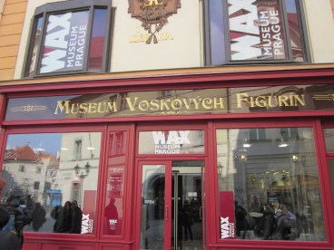Wax Museum in Prague