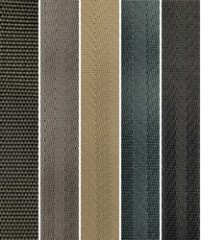Polyester SeatBelt Webbing Material Colors from Rosemont Textiles - 2018 Sept 15