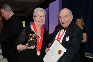 With me is Charles Grieco, Chair and President of the Ontario Hostelry Institute