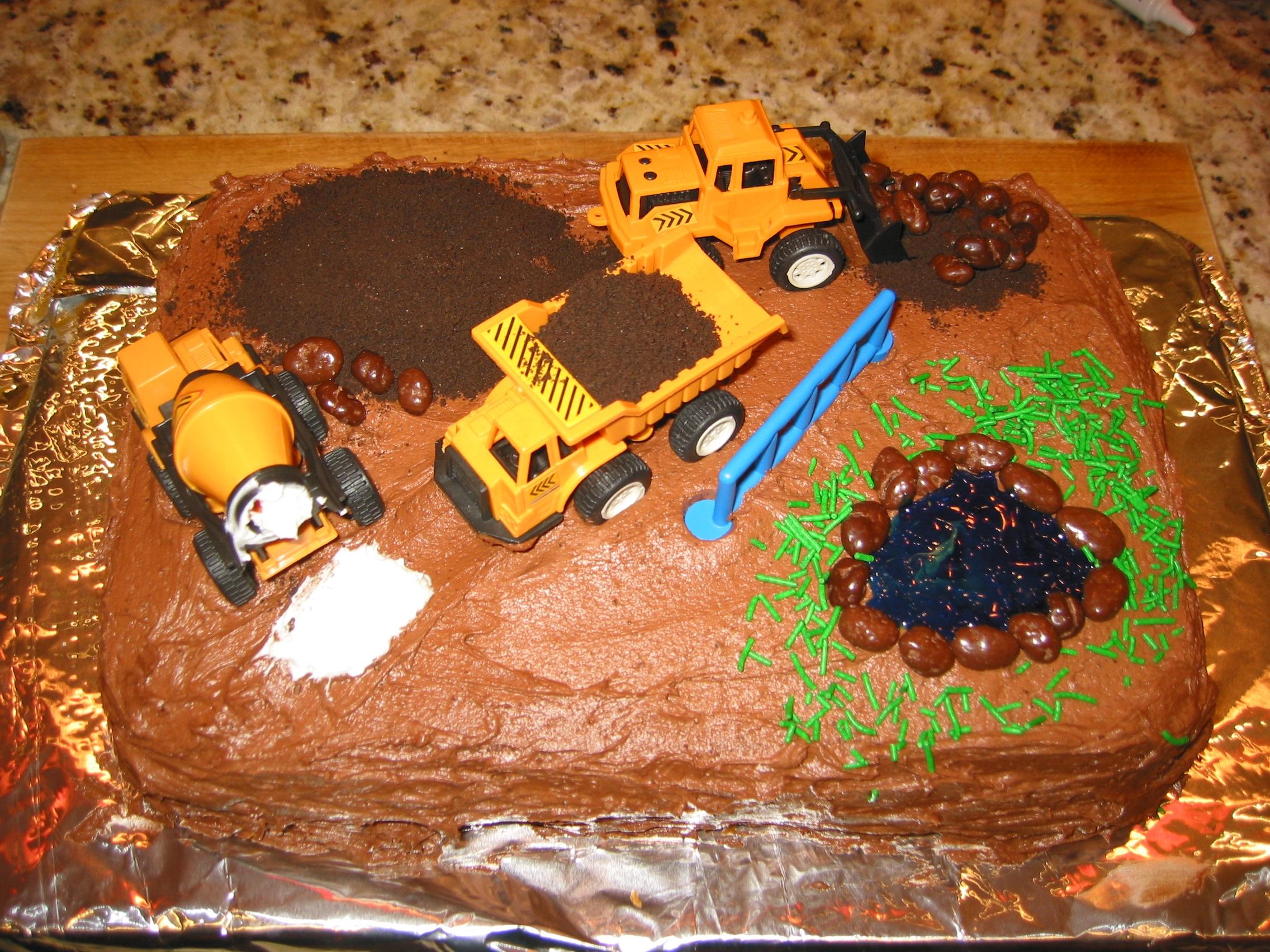 A birthday cake at 4