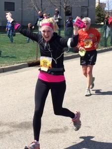 caitlin running