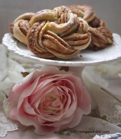 geflochtene Heferose rosen essen