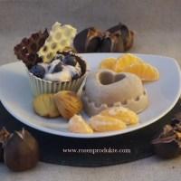 Maronen-Eis mit Rosen-Balsam