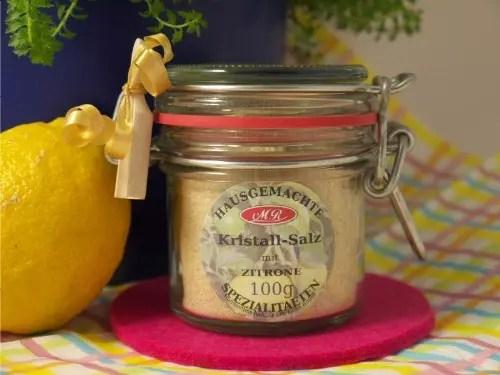 Zitronen Salz für Gnocchi-Pfanne