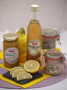 Set für Zitronen-Senfbutter