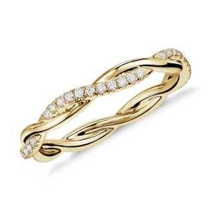 inel eternity aur diamante