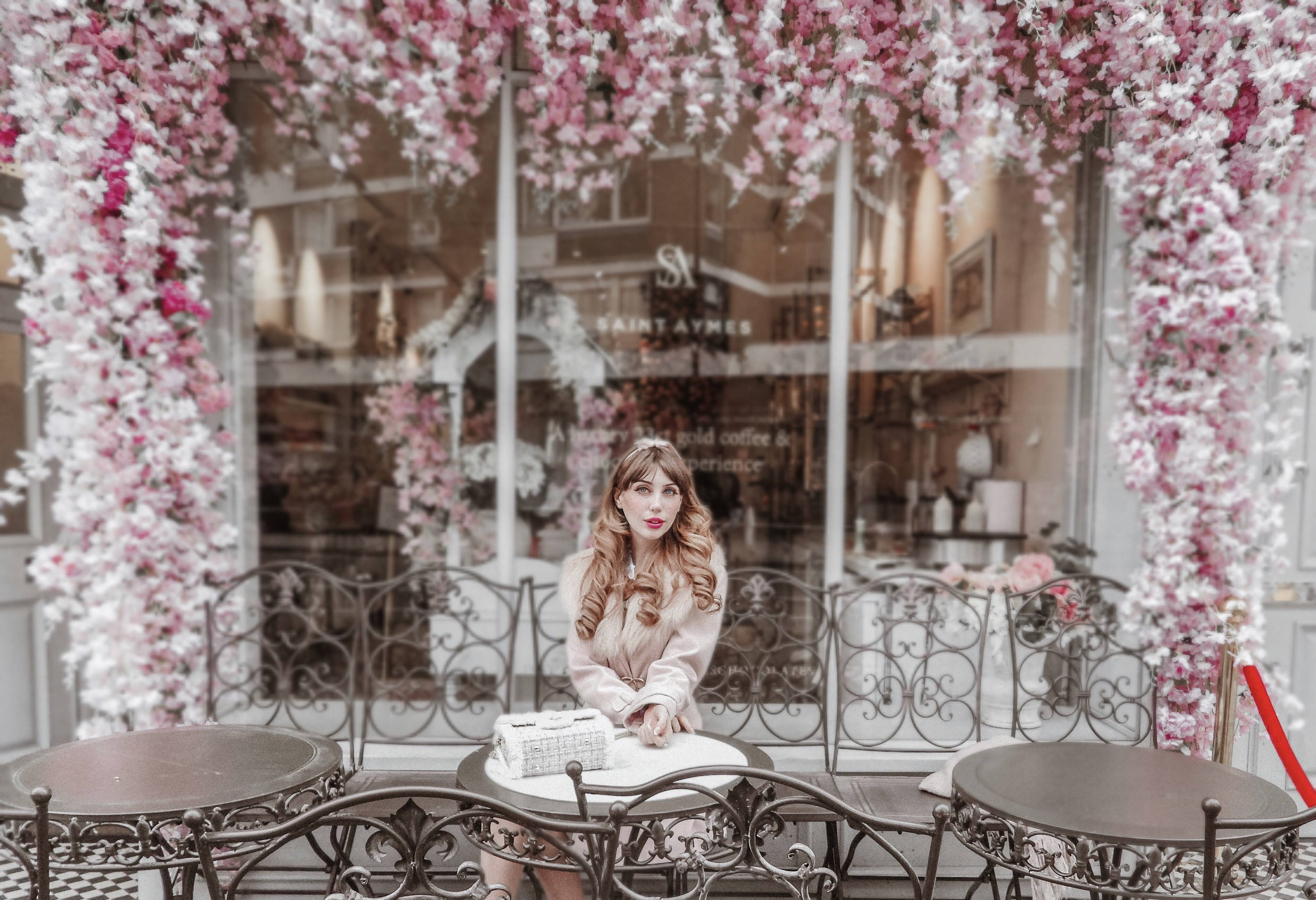 Romantic Date In London – Afternoon Tea at Saint Aymes