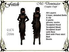 [GJCR] Fetish ~ Ms Dominator in Brown
