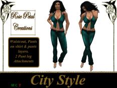 [RPC] Women ~ City Style ~ Cyan