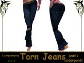[RPC] Women ~ Blue Torn Jeans