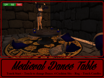 RPC Medieval Dance Table