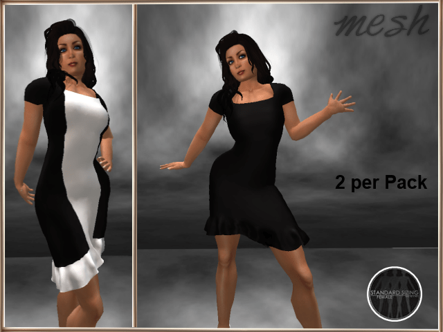 [RPC] MESH ~ Black Dress