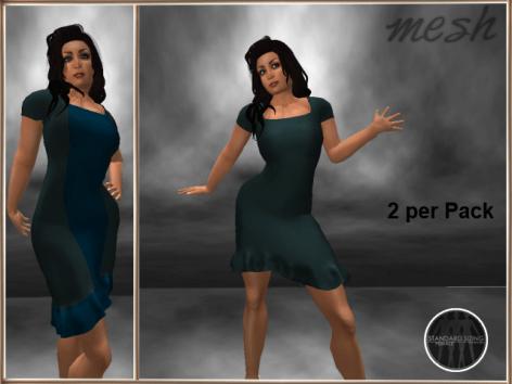 [RPC] MESH ~ Cyan Dress