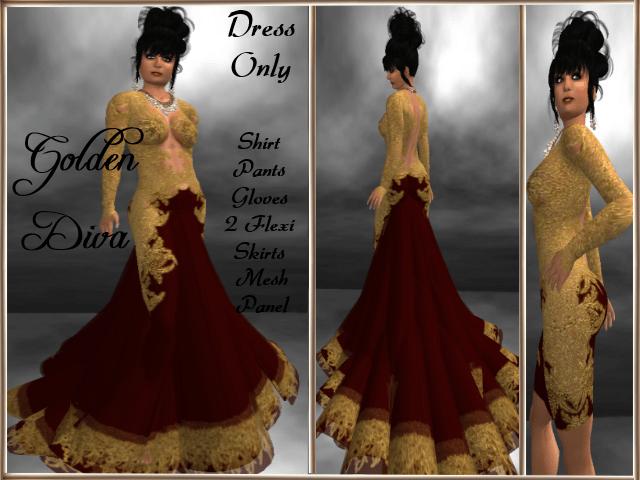 RPC Golden Diva ~ Red