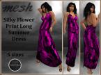 [RPC] Mesh ~ Flower Print Dress ~ Pink