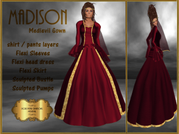 [RPC] Medievil ~ Madison ~ Red