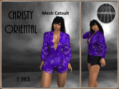 [RPC] MESH ~ Christi Oriental ~ Blue&Black Pack