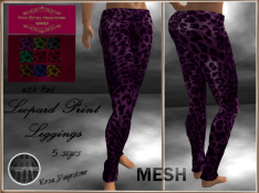 [RPC] MESH ~ Leopard Print Leggings with HUD