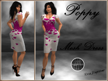 [RPC] MESH ~ Poppy Dress ~ Pink
