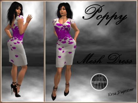 [RPC] MESH ~ Poppy Dress ~ Purple