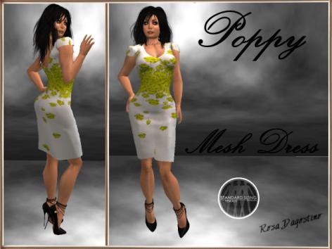 [RPC] MESH ~ Poppy Dress ~ Yellow