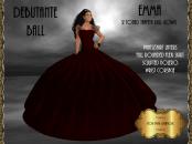 [RPC] Emma Ballgown in Claret